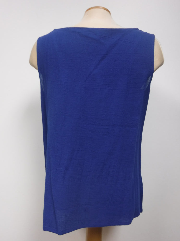 Pretty Woman Cotton Tank, Blue