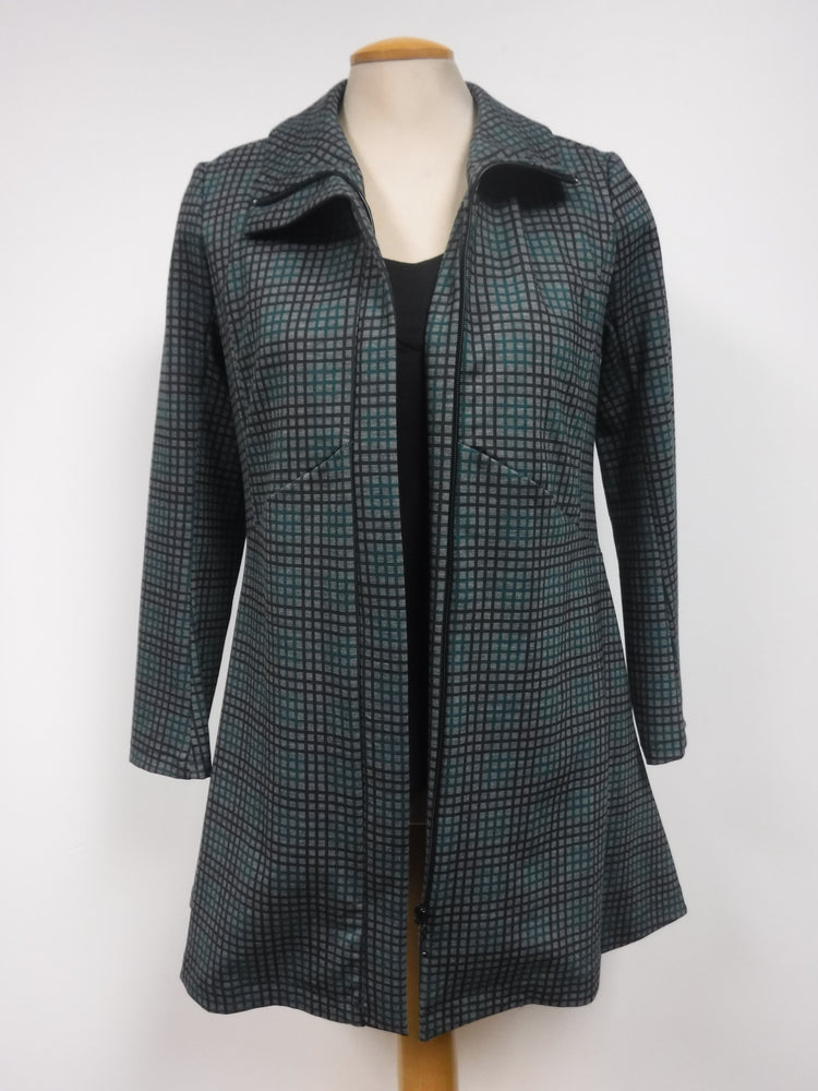 Pretty Woman Green Checkered Jacket