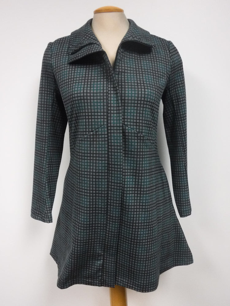 Pretty Woman CHECKERED JACKET, GREEN