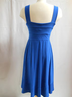 Pretty Woman Scoop Neck Dress, Blue