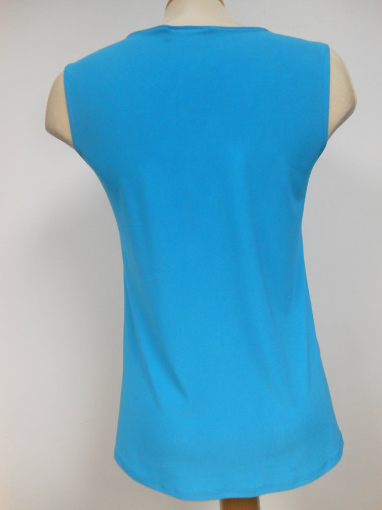 Pretty Woman TURQUOISE TANK TOP