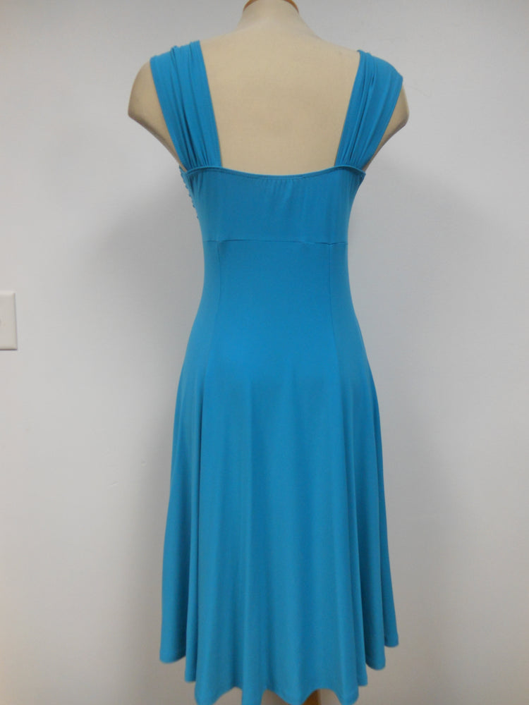 Pretty Woman Sweetheart Dress Turquoise