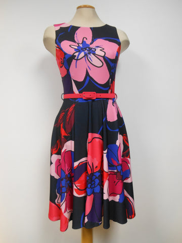 Frank Lyman Navy Red Dress