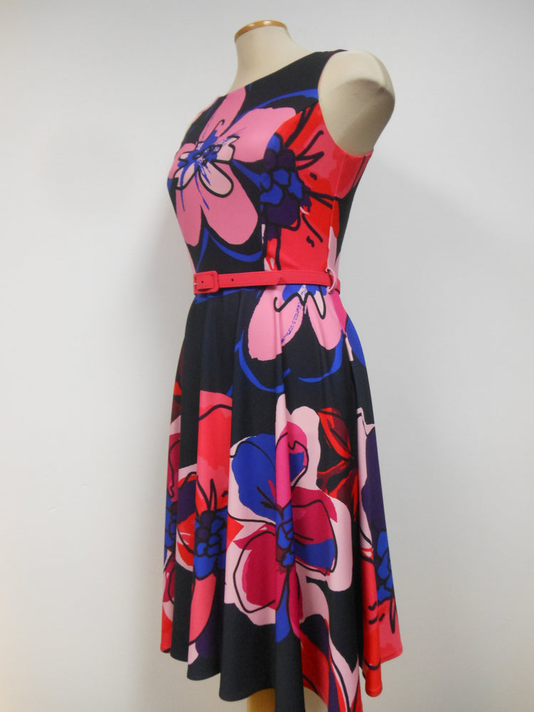 Frank Lyman Navy Red Dress - FINAL SALE  Size 6 only