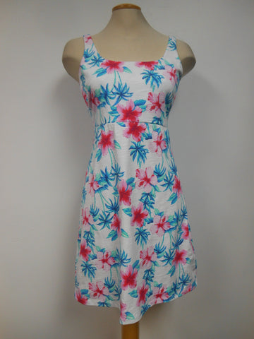 Tommy Bahama Cotton Blend Floral Sundress