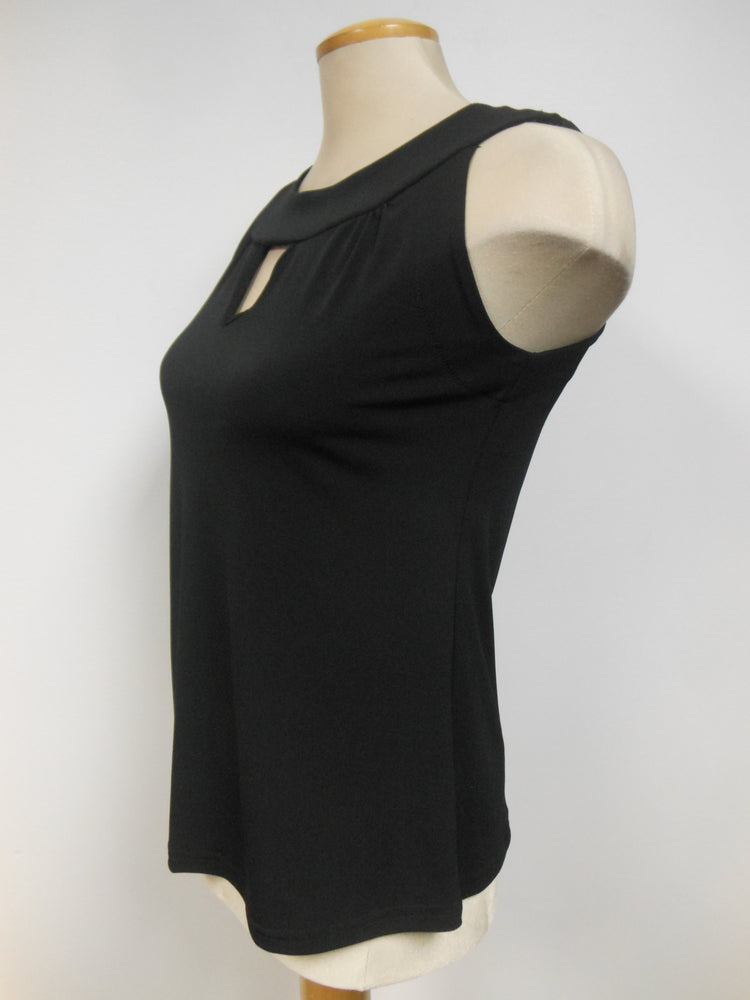 Pretty Woman Sleeveless Blouse, Black