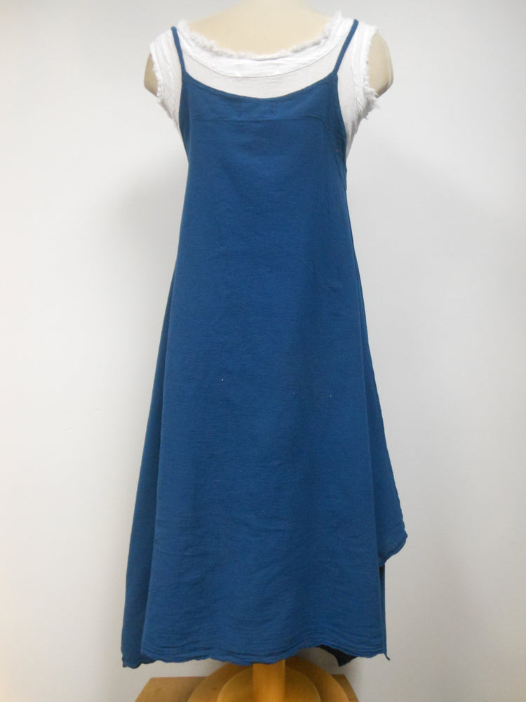 Indigo Handkerchief Dress
