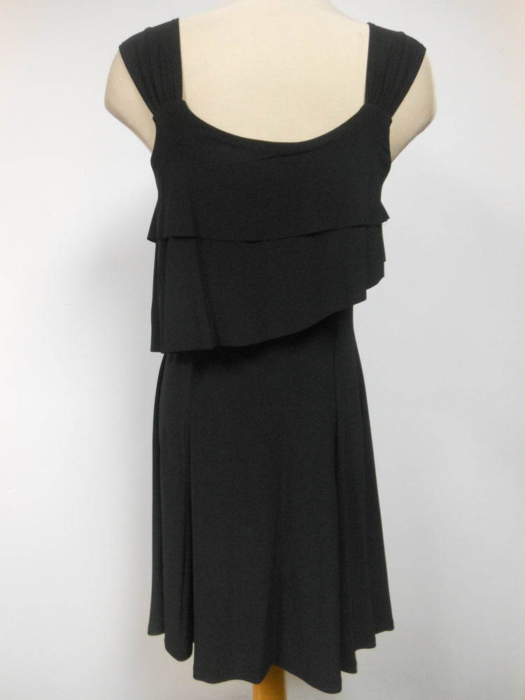 Pretty Woman Layer Dress, Black