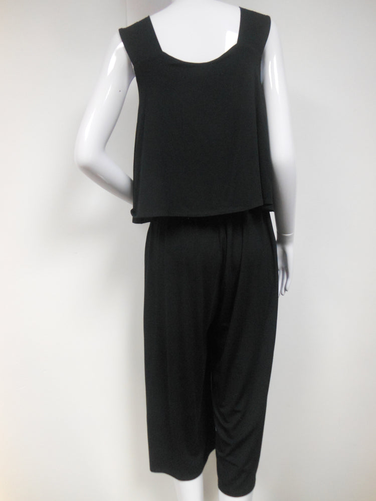Pretty Woman Bamboo Black Jumpsuit
