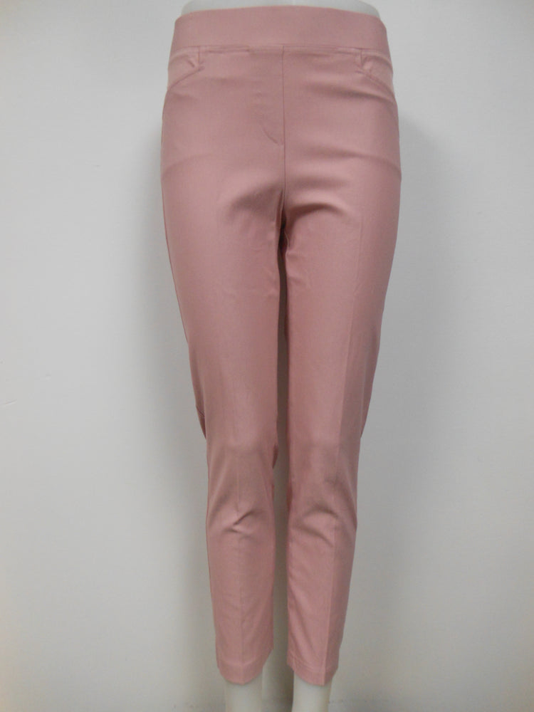 Blush Pull On Crop Pant