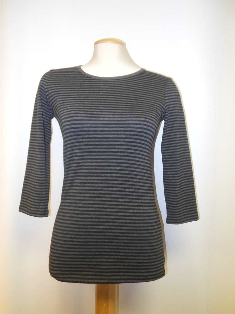 Gilmour Gray Tunic, Striped
