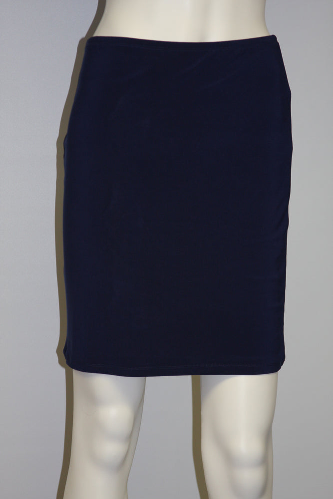 Pretty Woman 416 lined skirt, navy