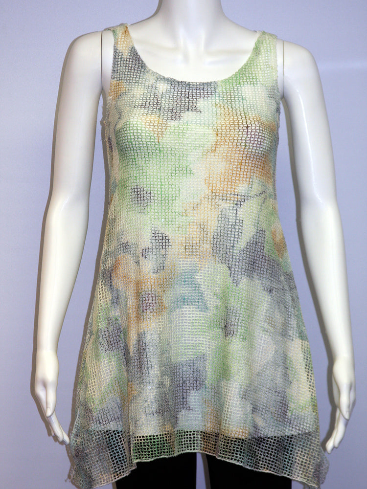 Pretty Woman Sleeveless Two Piece Tunic