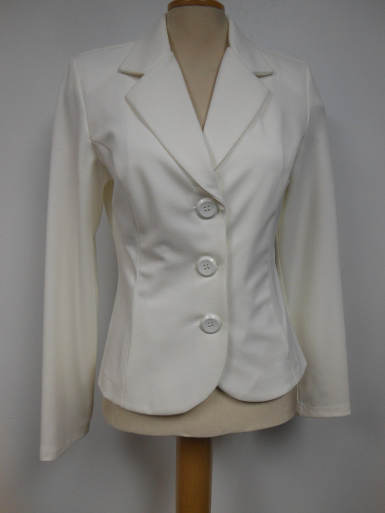 Joseph Ribkoff Short White Jacket