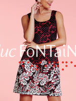 Luc Fontaine lace dress, made in Canada