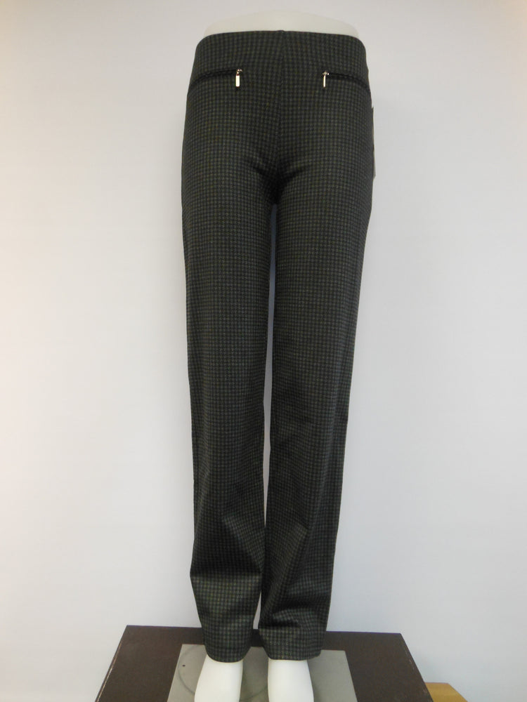 Mode de vie Pull Up Pant, Houndstooth,  One left, size  4