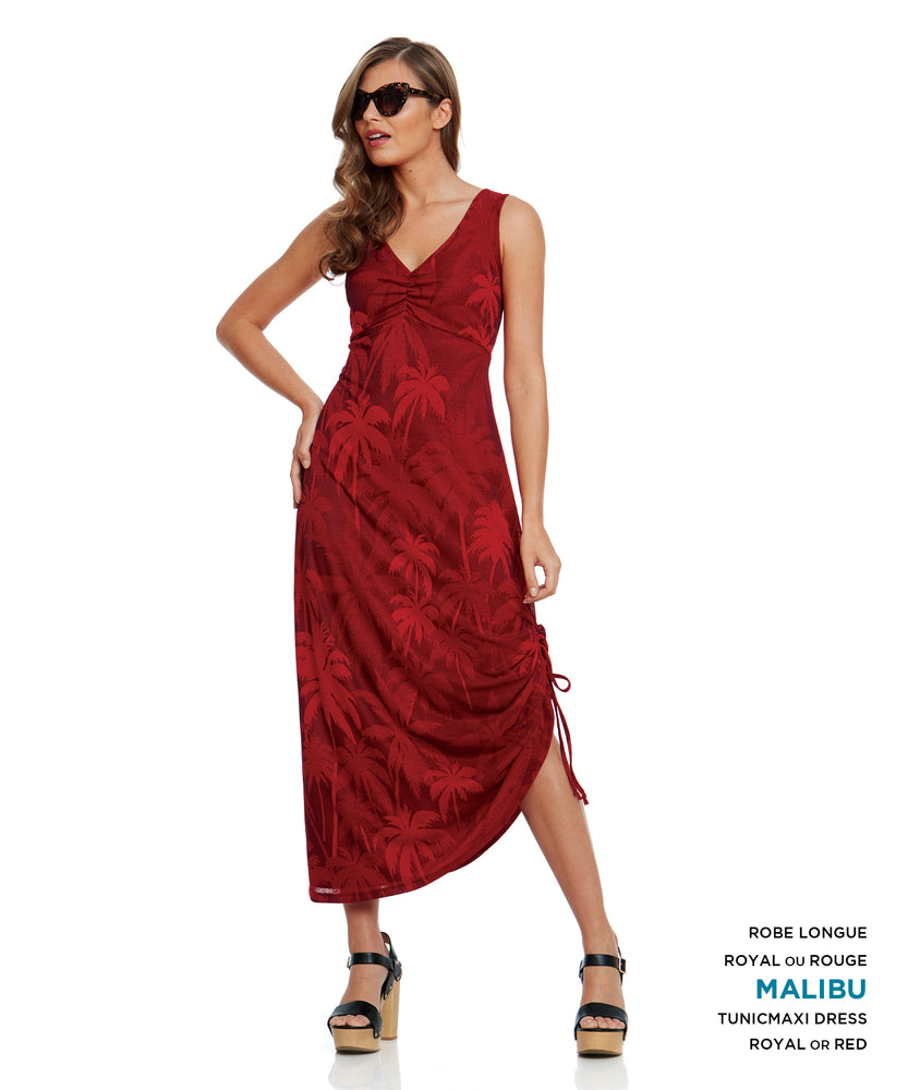 Yul Voy Red Maxi Dress