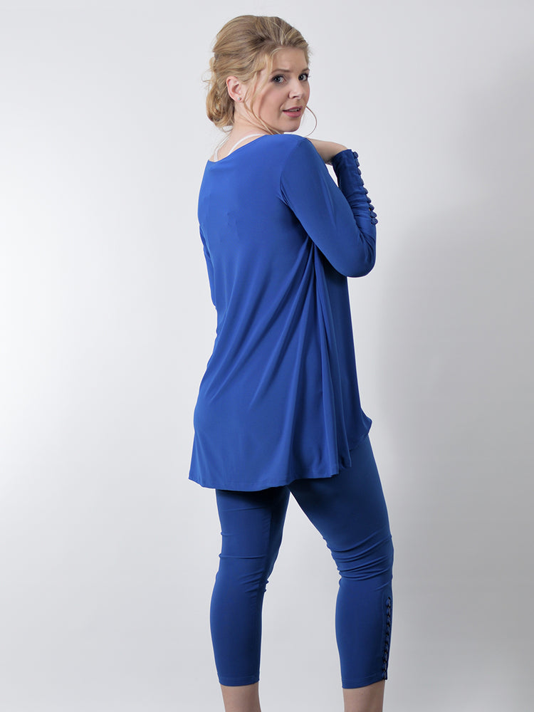 Pretty Woman Hi-Low Tunic, Blue