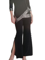 Wide Leg Pant with Dressy side slit