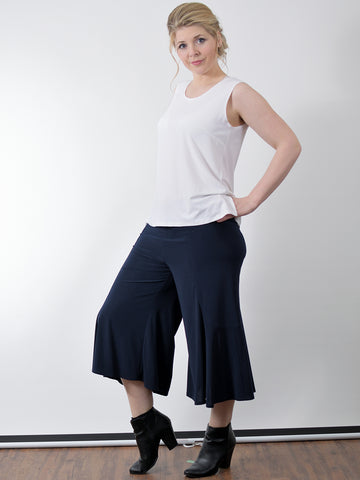 Gaucho Pants, Black