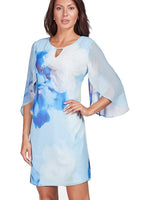 Frank Lyman Blue Floral Dress