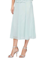 Ice Sage Lined Skirt