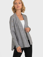 Joseph Ribkoff Light Grey Cover Up