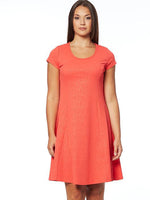 Coral Cap Sleeve Dress size Small only