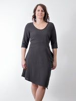 Pretty Woman cotton tunic 157 charcoal