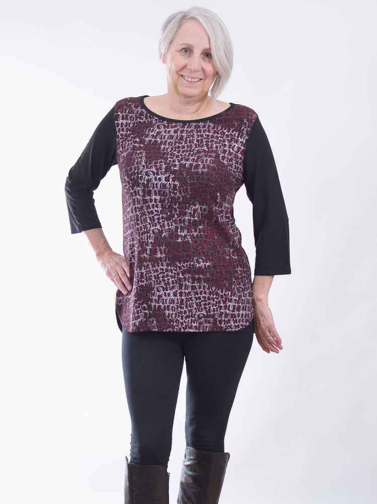 Pretty Woman Clothing Vancouver burgundy top