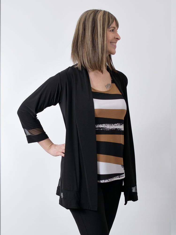 Pretty Woman Sheer Detail Shrug