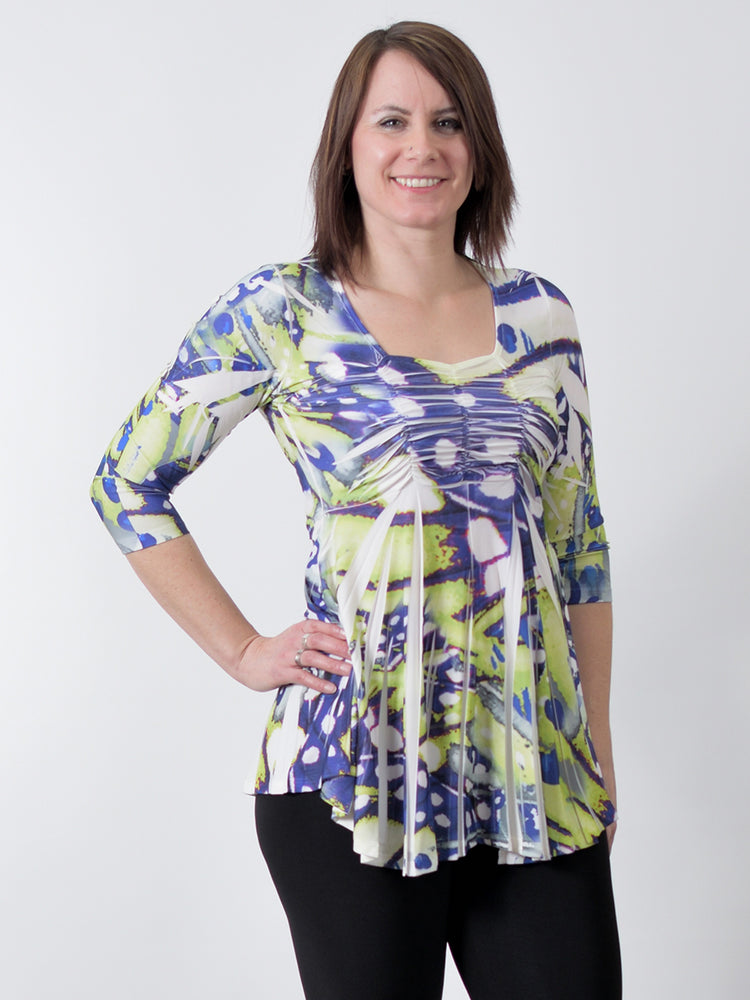 Pretty Woman 985 purple lime top