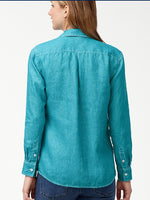 Tommy Bahama Sea Glass Breezer Teal - XL ONLY