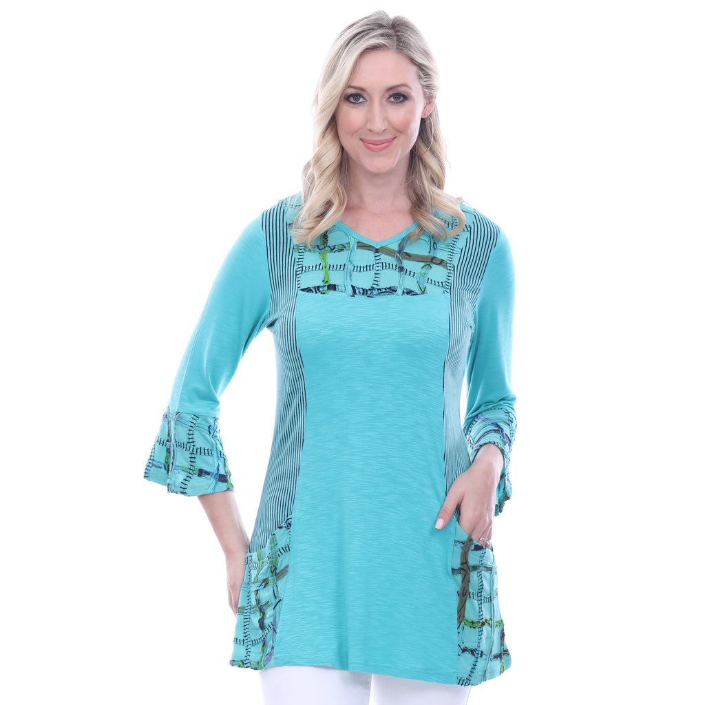Parsley & Sage Jodie Bell Sleeve Tunic 18T21T3