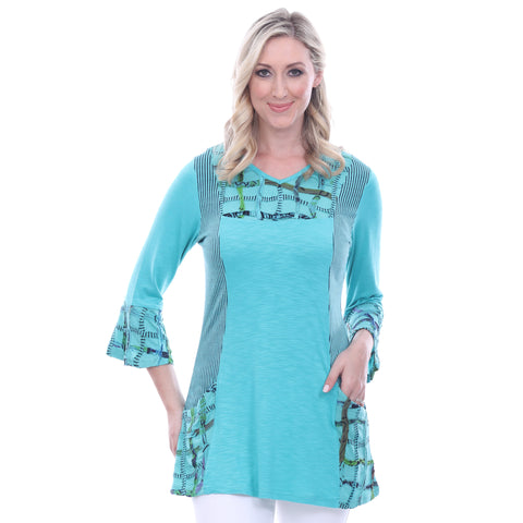 Parsley & Sage Jodie Bell Sleeve Tunic