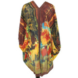 Cocoon House Degas Before the Performance Long Silk Kimono Jacket