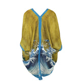 Cocoon House Great Waves Kimono Jacket
