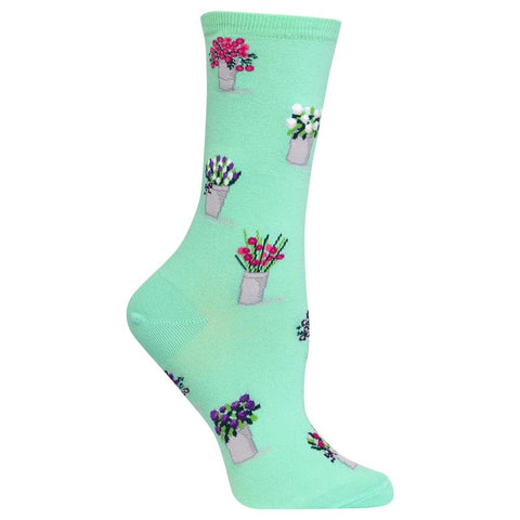 Hot Sox - Bouquets Socks (Green)