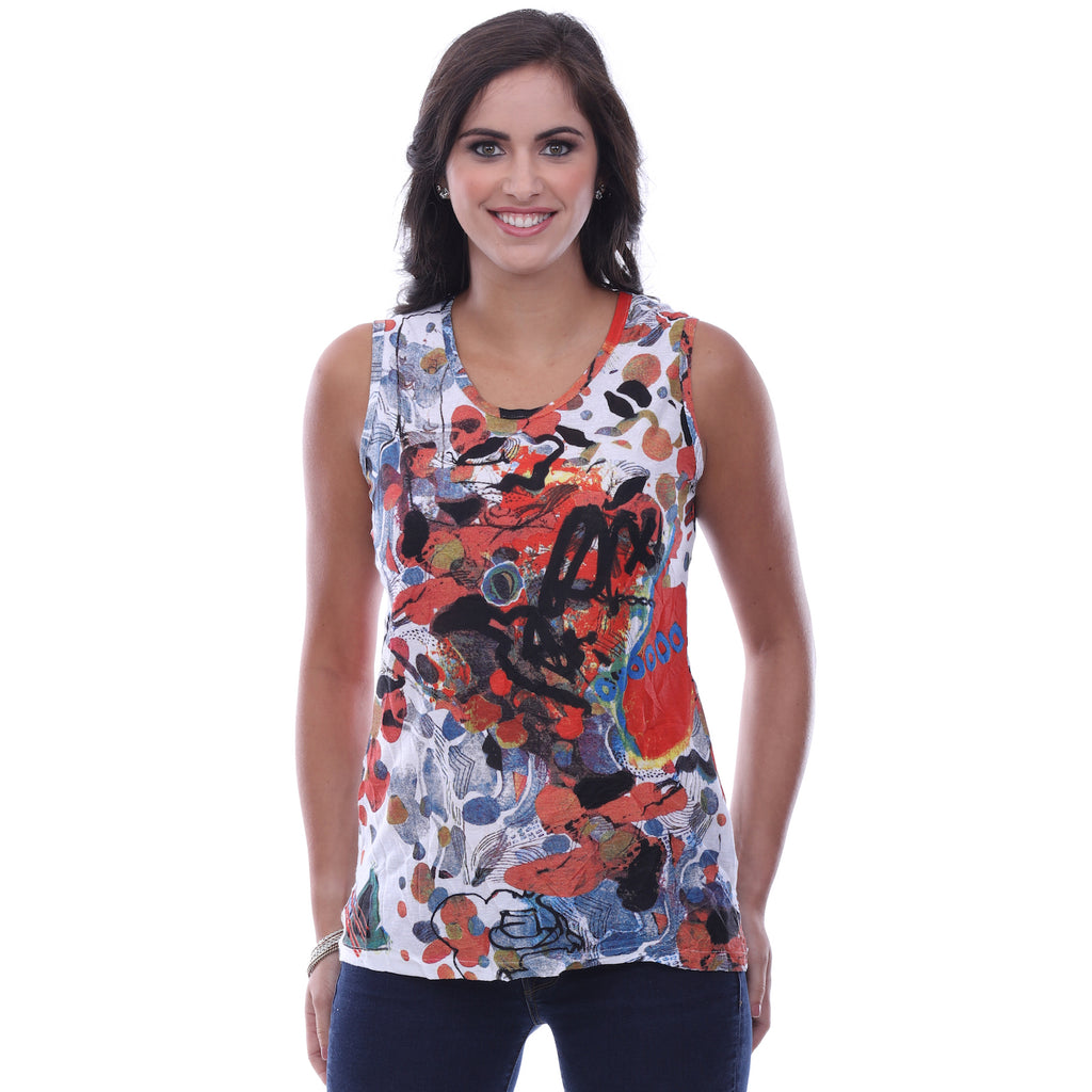 Parsley & Sage Callie Tank Plus Size 18T69A