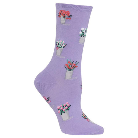 Hot Sox - Bouquets Socks (Purple)