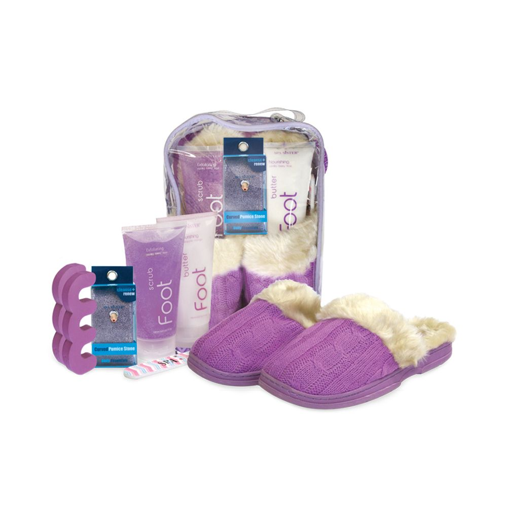 Spa Sister Snuggle Up Foot Spa - Lavender Purple