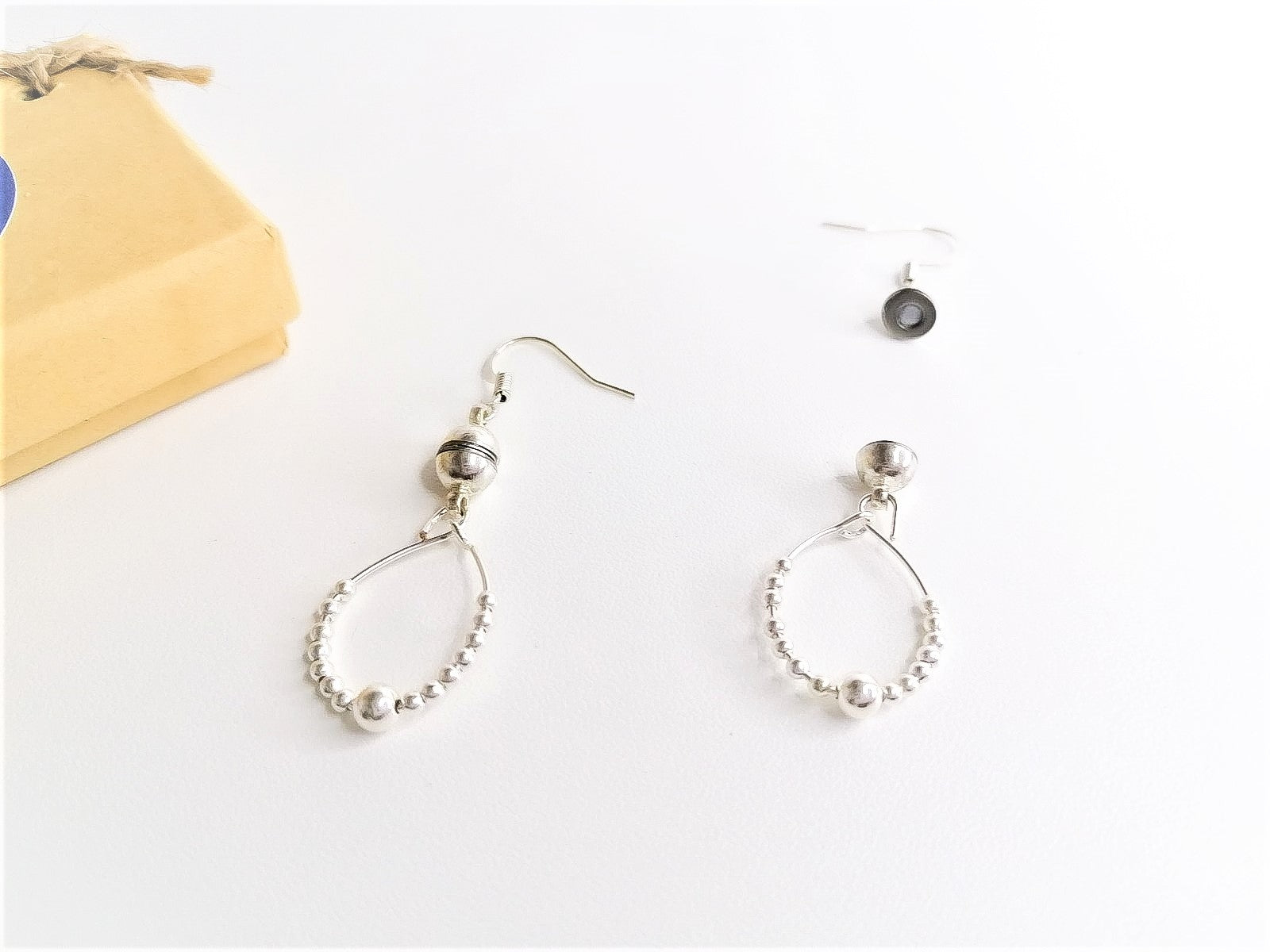 Sterling Silver Fidget Earrings