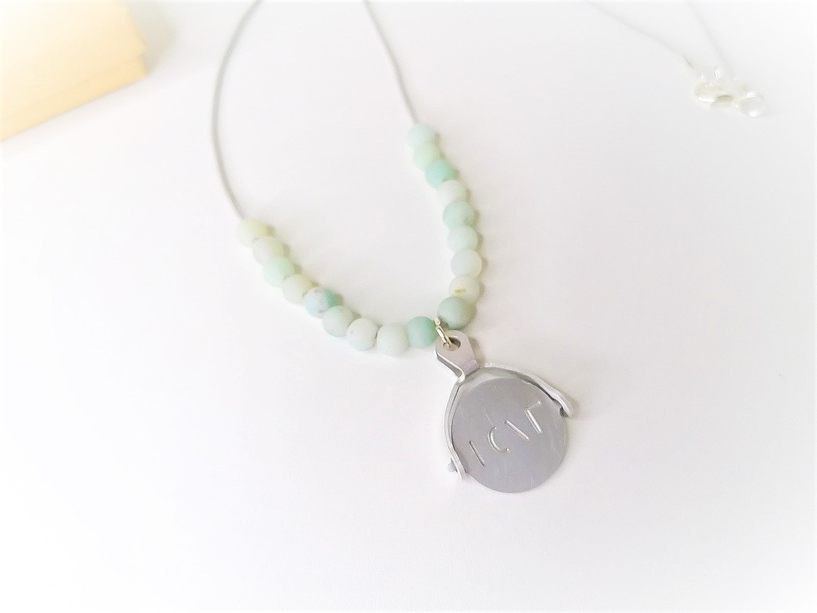 Amazonite Spinner Necklace