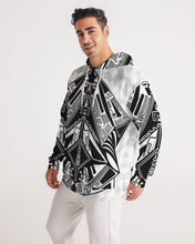 Load image into Gallery viewer, CyberGlyphic Gemstone Men's Hoodie