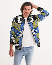 Load image into Gallery viewer, Flower Crown Men's Bomber Jacket