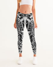 Load image into Gallery viewer, Tower of Gridwork Women's Yoga Pants