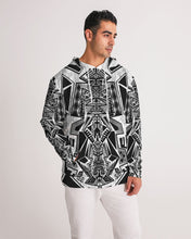Load image into Gallery viewer, Tower of Gridwork Men's Hoodie