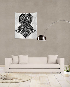 "Floating ZenWard Tapestry 51""x60"""