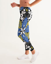 Load image into Gallery viewer, Flower Crown Women's Yoga Pants