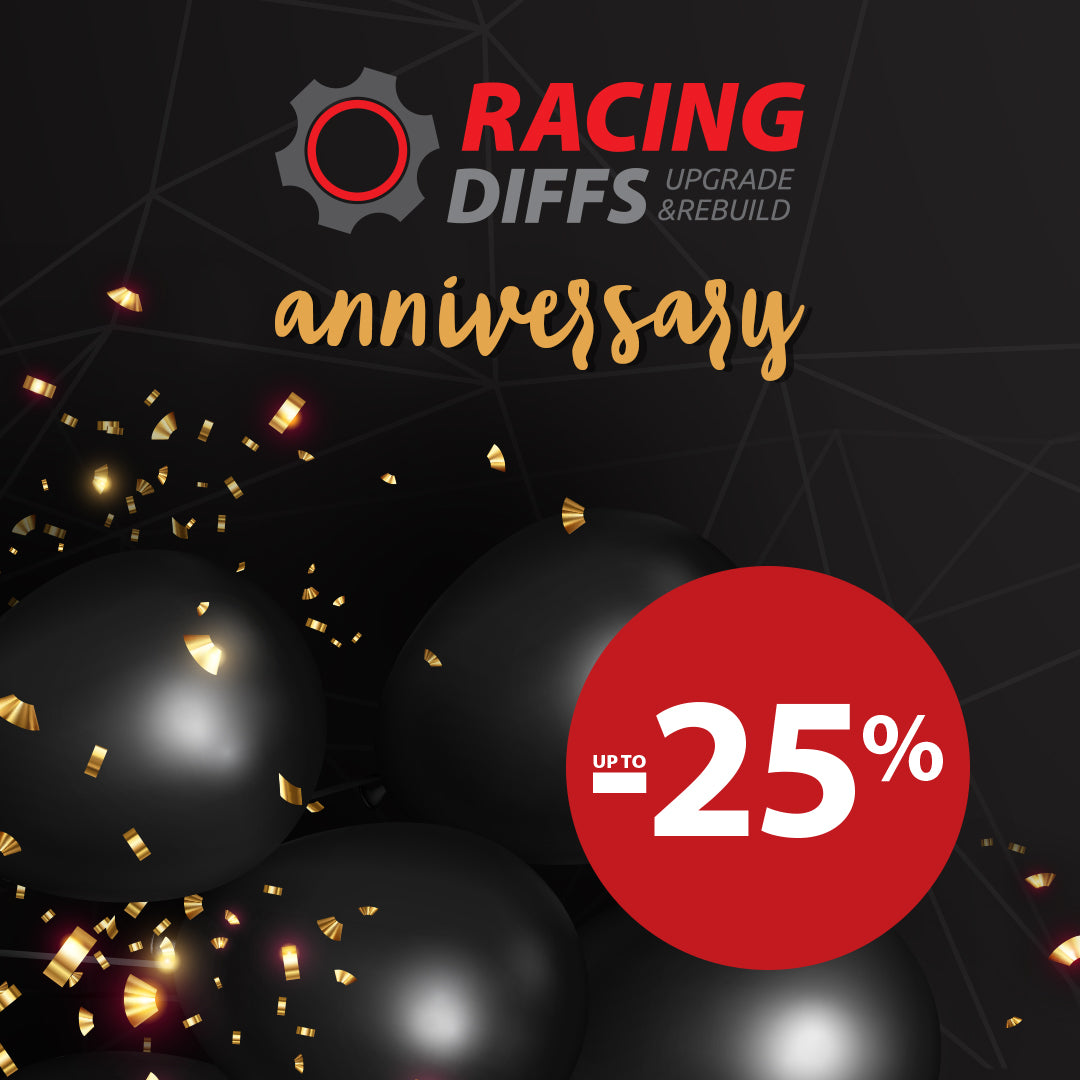 Celebrate our anniversary with us and claim up to 25% OFF